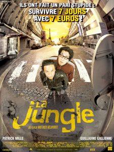 """Affiche du film """"La jungle"""""""