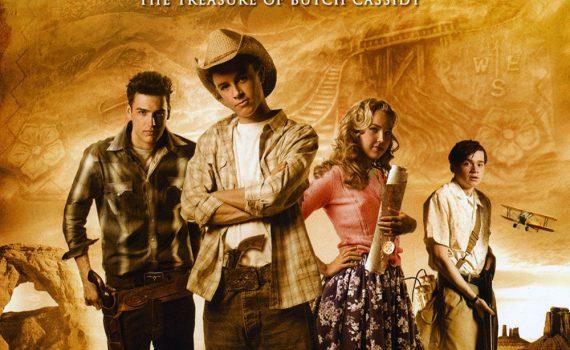 """Affiche du film """"Le Trésor de Butch Cassidy"""""""
