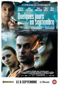 """Affiche du film """"Quelques jours en septembre"""""""