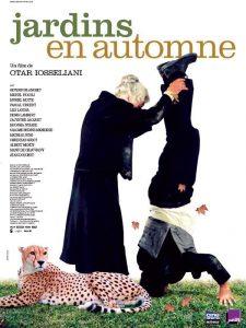 "Affiche du film ""Jardins en automne"""