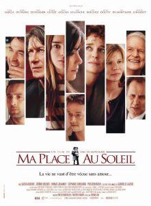 """Affiche du film """"Ma place au soleil"""""""