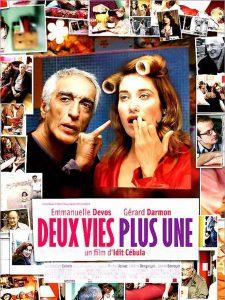 """Affiche du film """"Deux vies plus une"""""""