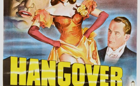 "Affiche du film ""Hangover Square"""