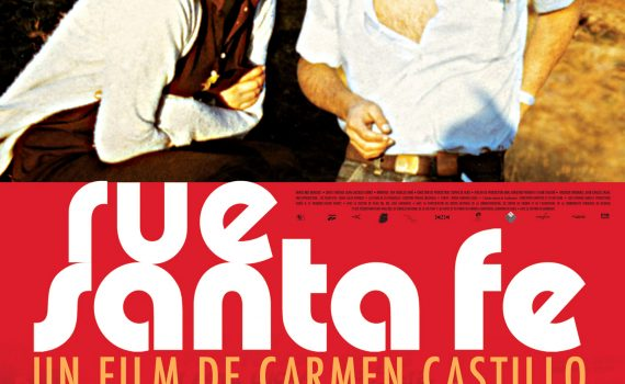 "Affiche du film ""Rue Santa Fe"""
