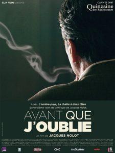 """Affiche du film """"Avant que j'oublie"""""""