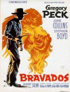 """Affiche du film """"Bravados"""""""