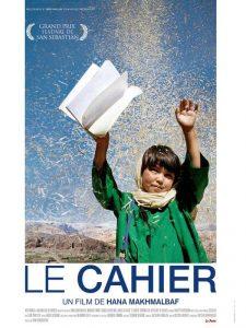 """Affiche du film """"Le Cahier"""""""