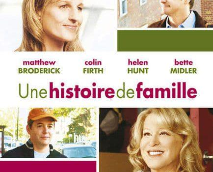 """Affiche du film """"Une histoire de famille"""""""