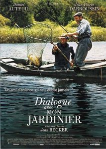 """Affiche du film """"Dialogue avec mon jardinier"""""""