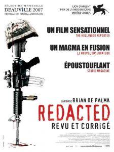 "Affiche du film ""Redacted"""