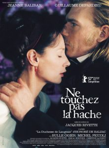 """Affiche du film """"Ne touchez pas la hache"""""""