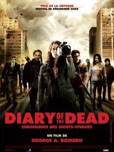 """Affiche du film """"Diary of the Dead : Chroniques des morts-vivants"""""""