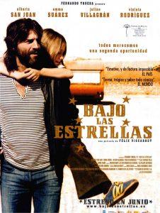 """Affiche du film """"Bajo las estrellas"""""""