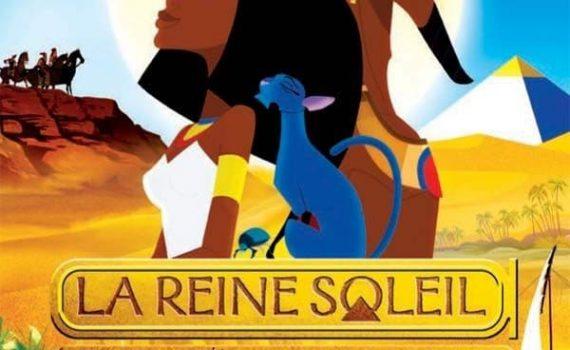 """Affiche du film """"La reine soleil"""""""