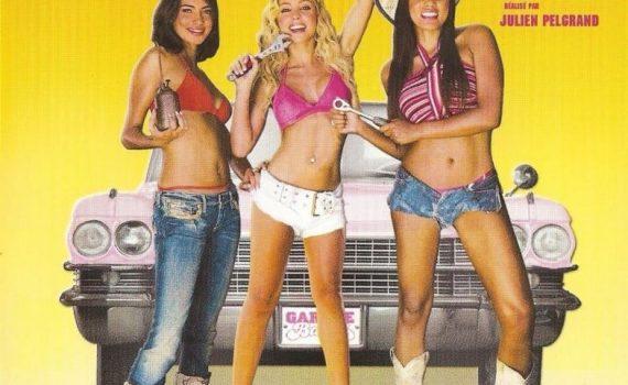 """Affiche du film """"Garage Babes"""""""