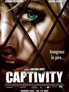 """Affiche du film """"Captivity"""""""