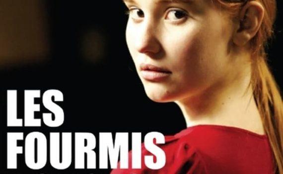 """Affiche du film """"Les fourmis rouges"""""""