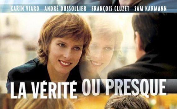 """Affiche du film """"La Vérité ou presque"""""""