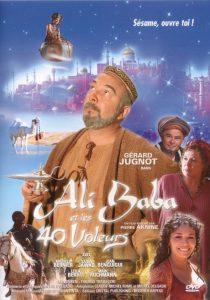 """Affiche du film """"Ali Baba et les 40 Voleurs"""""""