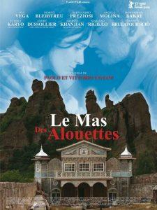 """Affiche du film """"Le Mas des Alouettes"""""""