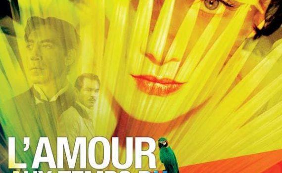 """Affiche du film """"L'Amour aux temps du choléra"""""""