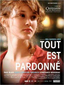 """Affiche du film """"Tout est pardonné"""""""