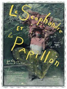 """Affiche du film """"Le Scaphandre et le papillon"""""""