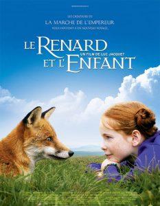 """Affiche du film """"Le Renard et l'Enfant"""""""