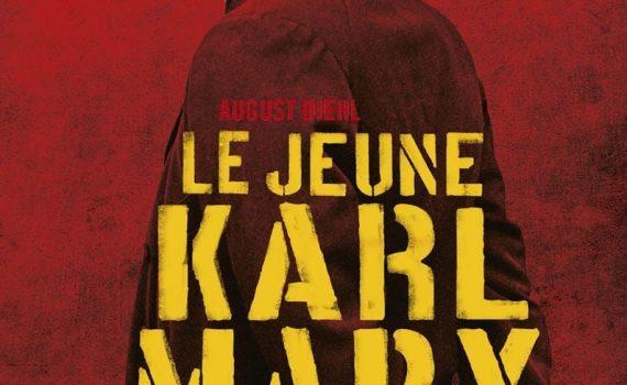 """Affiche du film """"Le jeune Karl Marx"""""""