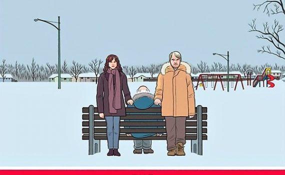 """Affiche du film """"La famille Savage"""""""