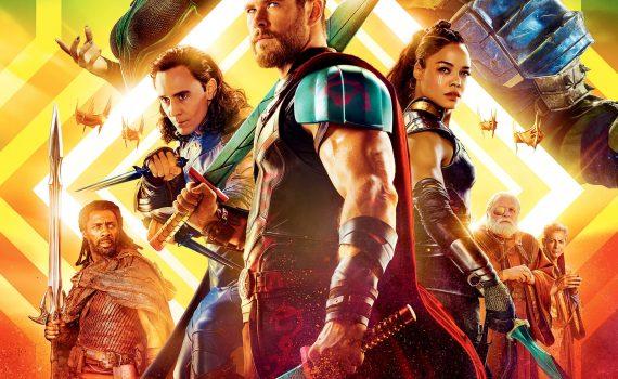 """Affiche du film """"Thor : Ragnarok"""""""
