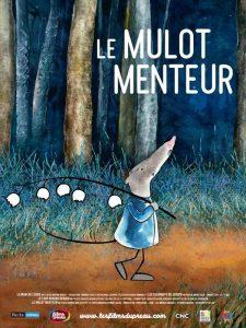 """Affiche du film """"Le Mulot menteur"""""""