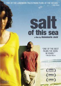 """Affiche du film """"Le sel de la mer"""""""