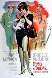 """Affiche du film """"Irma la douce"""""""