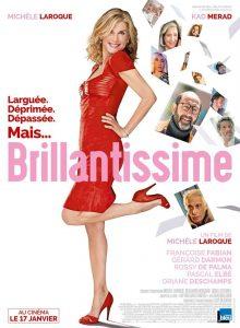 "Affiche du film ""Brillantissime"""