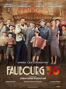 """Affiche du film """"Faubourg 36"""""""