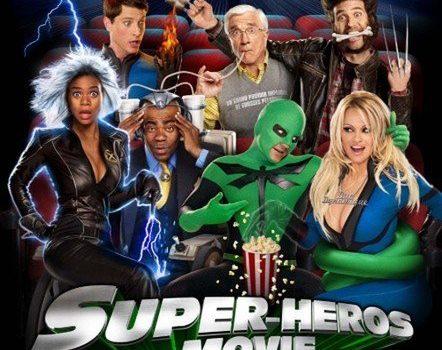 "Affiche du film ""Super-Héros Movie"""