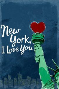 "Affiche du film ""New York, je t'aime"""
