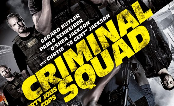"Affiche du film ""Criminal Squad"""