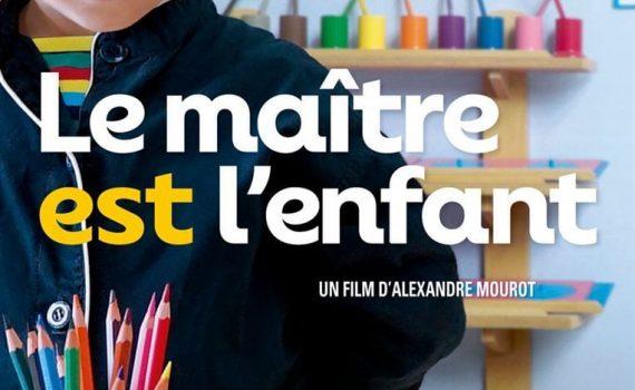 """Affiche du film """"Le Maître est l'enfant"""""""