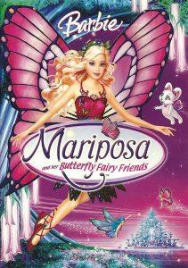 """Affiche du film """"Barbie : Mariposa et ses amies les fées-papillons"""""""