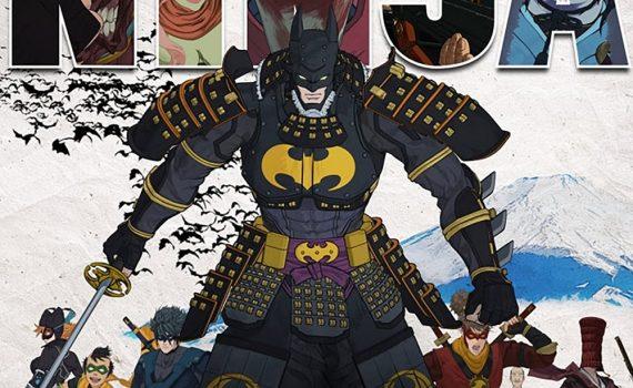 "Affiche du film ""Batman Ninja"""