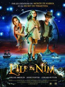 """Affiche du film """"L'Île de Nim"""""""