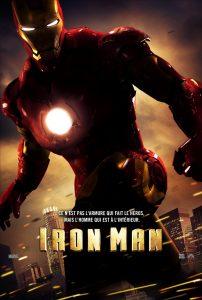 """Affiche du film """"Iron Man"""""""