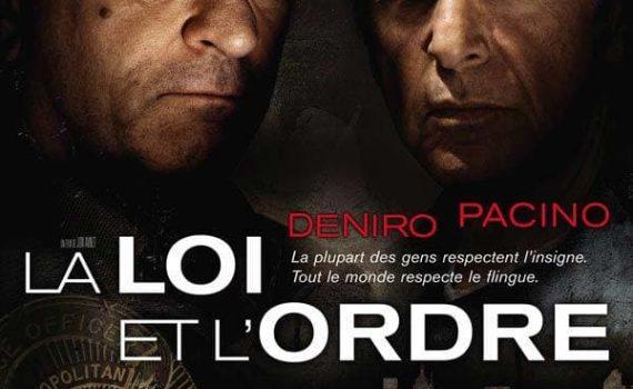 """Affiche du film """"La Loi et l'Ordre"""""""