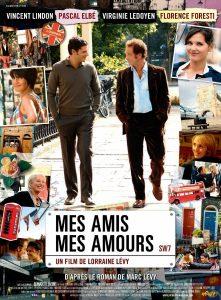"""Affiche du film """"Mes amis, mes amours"""""""