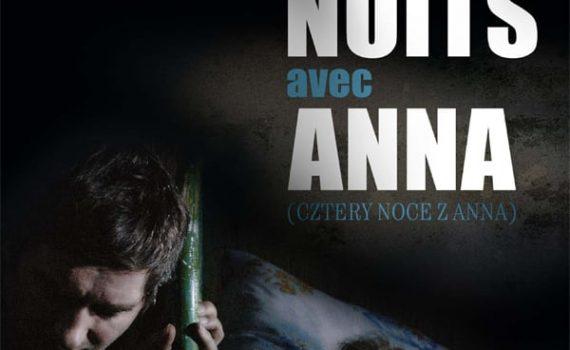 """Affiche du film """"Quatre nuits avec Anna"""""""