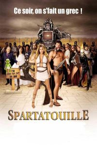 "Affiche du film ""Spartatouille"""