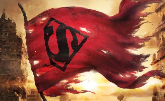 """Affiche du film """"La mort de Superman"""""""