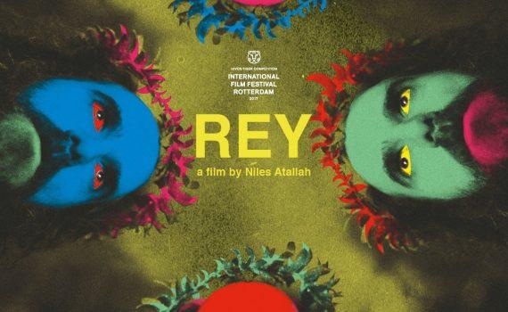 """Affiche du film """"Rey, l'histoire du français qui voulait devenir roi de Patagonie"""""""